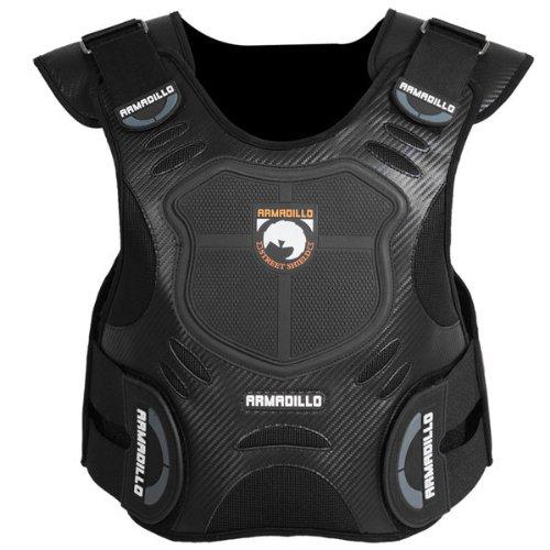 Fieldsheer Armadillo Adult Vest Protector Street Motorcycle Body Armor - Black / Small/medium