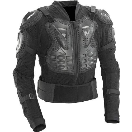 Fox Racing Titan Sport Jacket Men's Roost Deflector Motocross/off-road/dirt Bike Motorcycle Body Armor - Black