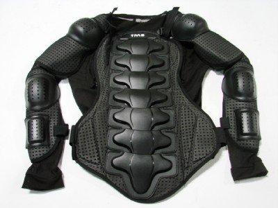 Tms® Motorcycle Full Body Armor Protector Street Motocross Atv Jacket Shirt (large)