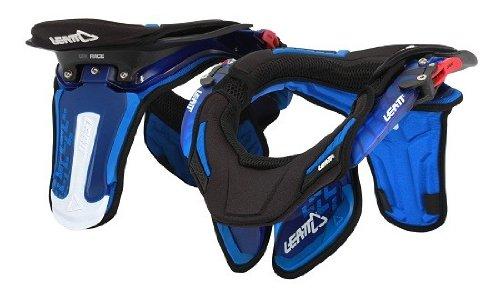Leatt Gpx Race Neck Brace (blue Translucent, Large/x-large)