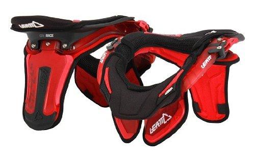 Leatt Gpx Race Neck Brace (red Translucent, Large/x-large)