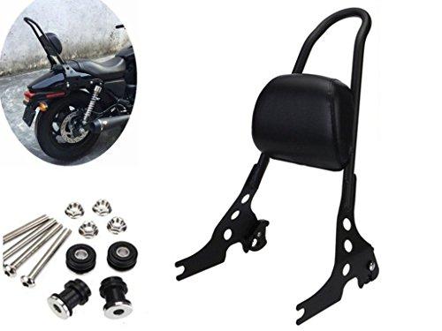 E-Most Detachable Sissy Bar Solid Steel Rear Passenger Backrest For Harley Sportster XL 883 1200 48
