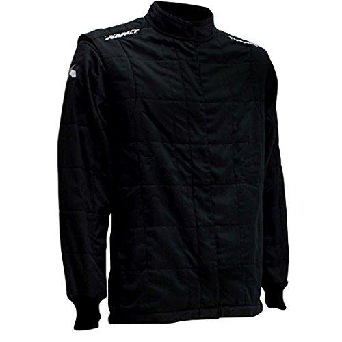IMPACT RACING Black Medium The Racer Driving Jacket PN 22500410