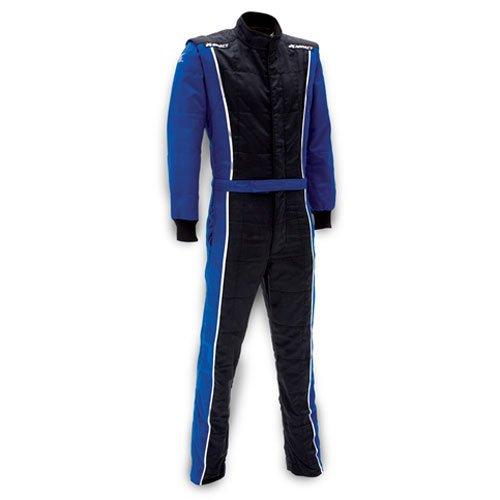 Impact Racing 24215406 Racer Suit SFI 32A5 Rated Blue Black Medium