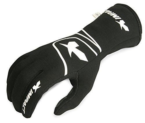 Impact Racing 34200610 Black X-Large Glove G6 SFI 3351 Pack