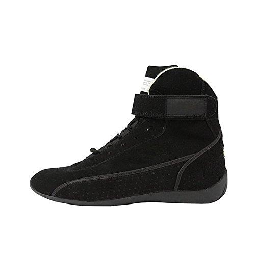 Impact Racing 46011010 High-Top Black Shoes