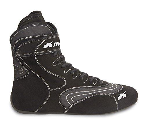 Impact Racing Mens Shoe Alpha SFI 335 Black 8 1 Pack