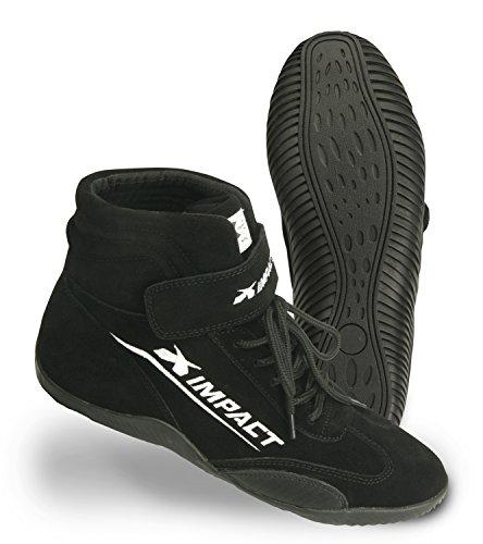 Impact Racing Mens Shoe Axis SFI 335 Black 8  1 Pack
