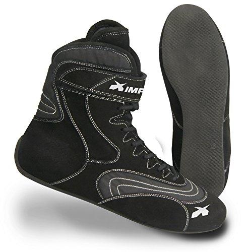 Impact Racing Mens Shoe Redline SFI 3320 Black 12  1 Pack