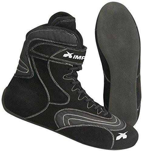 Impact Racing Mens Shoe Redline SFI 3320 Black 9  1 Pack