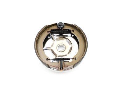V-Twin 22-0708 - Rear Mechanical Brake Backing Plate Kit Chrome