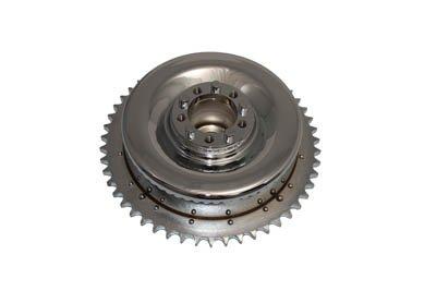 V-Twin 23-0429 - Mechanical Brake Drum Chrome