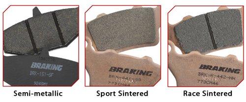 Braking SM1 Semi Metallic Pad 891SM1