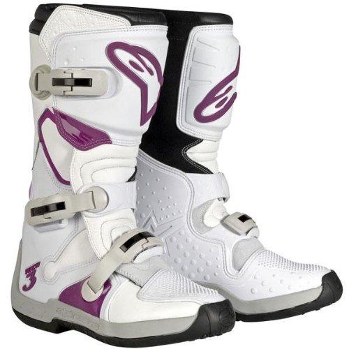 Alpinestars Womens Stella Tech 3 Boots - 7WhiteViolet
