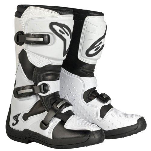 Alpinestars Womens Stella Tech 3 Boots - White - Free Shipping - Size 8