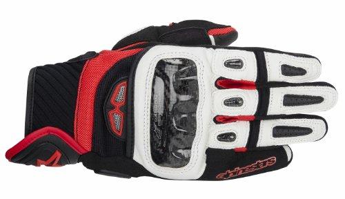 Alpinestars GP Air Mens Street Motorcycle Gloves - BlackWhiteRed  X-Large