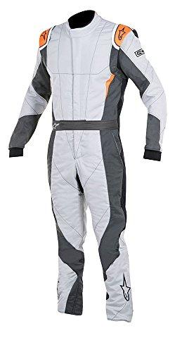 Alpinestars GP PRO Suit GrayAnthraciteFluorescent Orange Size 52