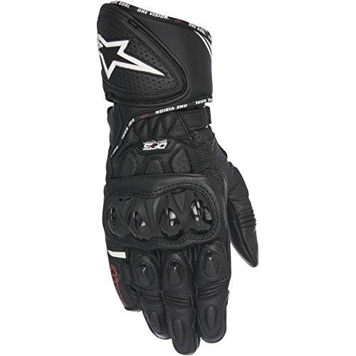 Alpinestars GP Plus R Leather Motorcycle Race Gloves Black LG