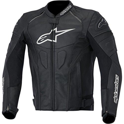 Alpinestars GP Plus R Mens Leather Motorcycle Jackets - BlackWhite  Large