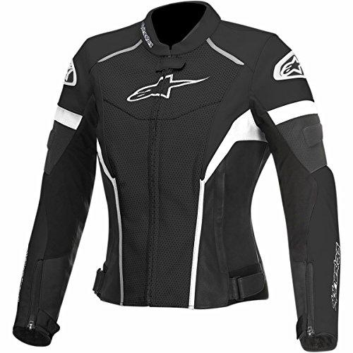 Alpinestars GP Plus R Perforated Womens Street Motorcycle Jackets - BlackWhite  38