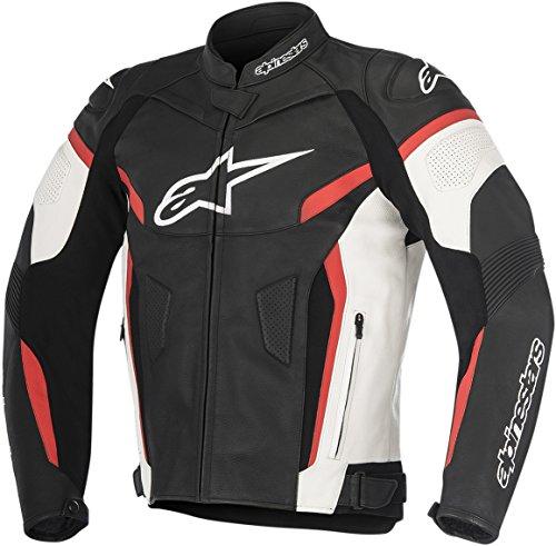 Alpinestars GP Plus R V2 Leather Jacket BlackWhiteRed Mens Size 48