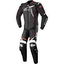 Alpinestars GP Plus V2 Motorcycle Leather Suit BlackWhiteRed  54Euro 44US