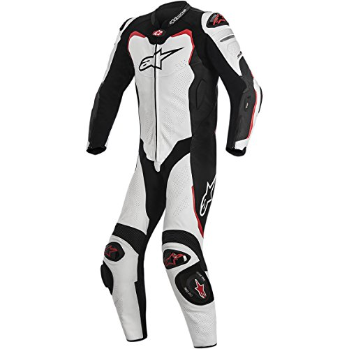 Alpinestars Gp Pro Leather Suit 1 Piece BlackWhiteRedSize 50
