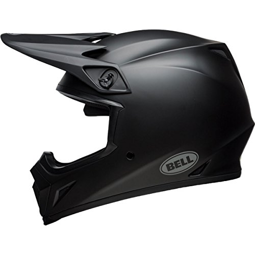 Bell MX-9 MIPS Equipped Motorcycle Helmet Solid Matte Black Large