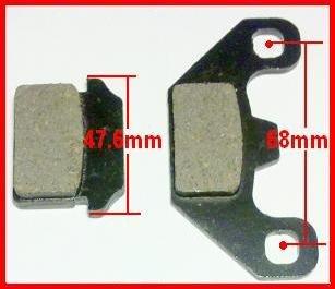 Ver 2 50cc 125cc Chinese ATV Brake Pads Set NST Mini Quad Part Roketa ATV Parts