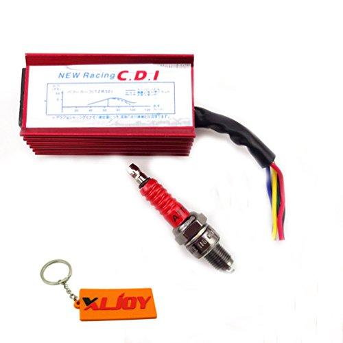 XLJOY Racing 5 Pin CDI Spark Plug For 50 90 110 cc 125cc Kazuma Taotao Roketa ATV Quad