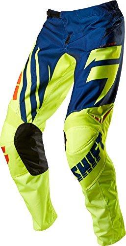 Shift Racing Assault Race Men's Off-road Motorcycle Pants - Navy/yellow / Size 38