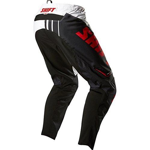 Shift Racing Assault Race Pants - 28/black/white