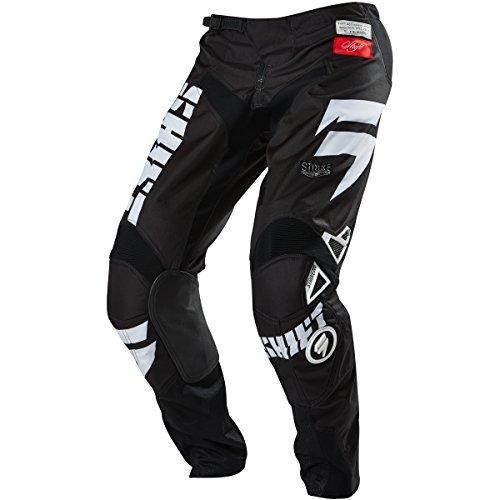 Shift Racing Strike Men's Off-road Motorcycle Pants - Black / Size 34