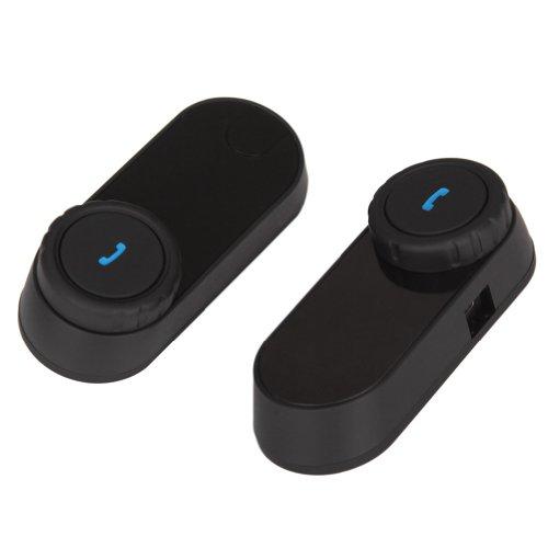 Koolertron New Waterproof Wireless Bluetooth Intercom / Music Headset Auto Receive Call For Motorcycle Ski Atv