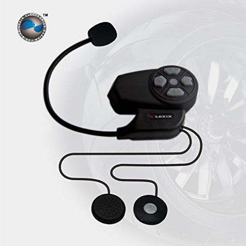 Lexin® Max2 800m Bt Bluetooth Motorcycle Helmet Wireless Bike To Bike Intercom Headsets