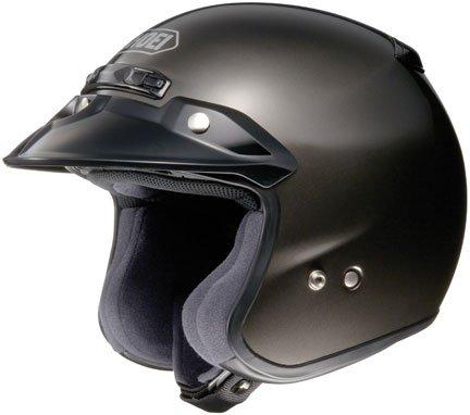 Shoei RJ PLATINUM R SERIES CRUISER Anthracite SIZEXXL Open Face Motorcycle Helmet