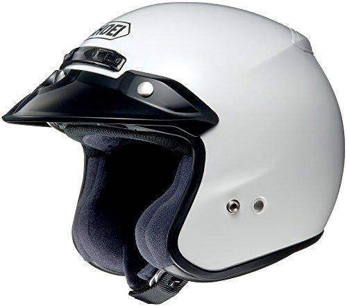 Shoei RJ Platinum-R White Open Face Helmet XL