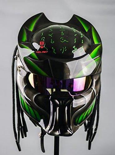 Pro Predator Motorcycle Helmet bone grill predator SY53 XL