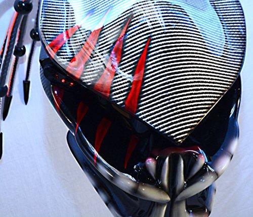 predator motorcycle helmet kevlars
