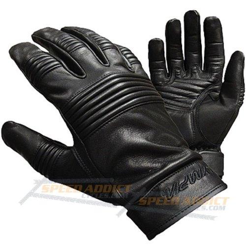 Olympia 103 Easy Rider Classic Motorcycle Gloves (black, Medium)