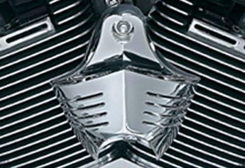 I5&reg Chrome Horn Cover For Harley Davidson