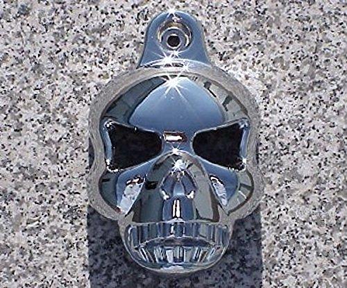 I5&reg Chrome Skull Horn Cover For Harley Davidson