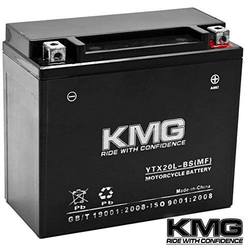 Kmg® Yamaha 700 Yfm7fg Grizzly 2007-2012 Ytx20l-bs Sealed Maintenace Free Battery High Performance 12v Smf Oem