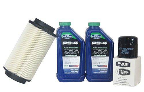 2000-2001 Magnum 325 4x4 Genuine Polaris Oil Change And Air Filter Kit