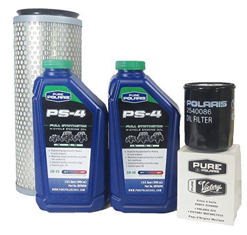 2008-2009 Ranger 6x6 700 Efi Genuine Polaris Oil Change And Air Filter Kit