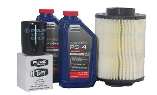 "2009-2011 Rzr ""s"" 800 Efi Genuine Polaris Extreme Duty Oil Change And Air Filter Kit"