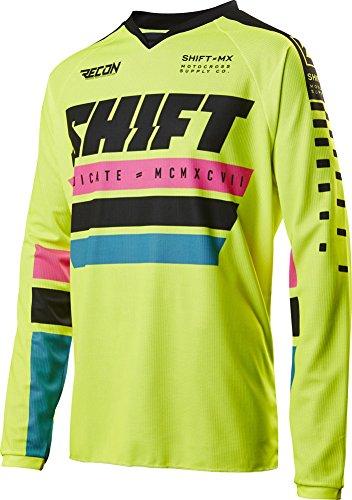 2017 Shift Recon Phoenix Jersey-Flo Yellow-XL