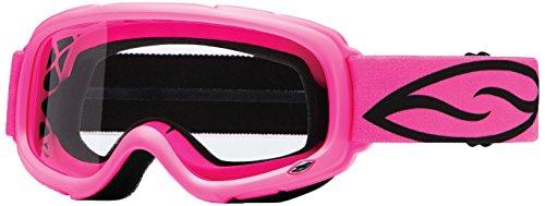 Smith Optics Gambler MX Motocross Goggles Bright Pink FrameClear Lens