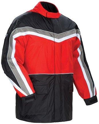 Tourmaster Elite Ii Rain Motorcycle Jacket Rd/bk Size:3xl