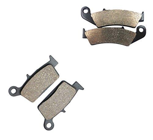 CNBK Resin Brake Pad Set fit for HONDA Dirt Bike CR250 CR 250 cc 250cc R 87 88 89 90 91 1987 1988 1989 1990 1991 4 Pads
